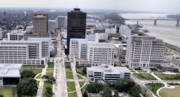 La On Us Map.Map Of Baton Rouge La Streets Roads Directions And Sights Of