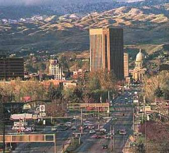 Map of Boise, ID. Streets, roads, directions and sights of Boise, ID.