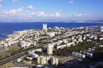 Map of Haifa Israel online Streets neighborhoods and sights of