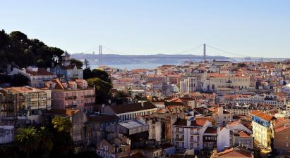 Map Of Lisbon Portugal Online Streets Neighborhoods And Sights - Lisbon portugal neighborhoods map