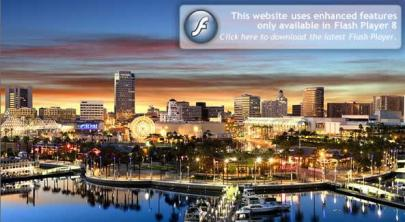Map of Long Beach CA Streets roads directions and sights of