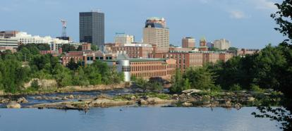 An image of Manchester, NH