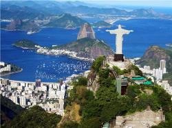 Map of Rio de Janeiro Brazil online Streets neighborhoods and