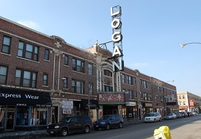 Map Of Logan Square Chicago Il Streets Roads And
