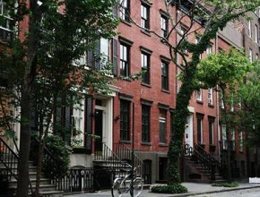 Map Of West Village New York City Ny Streets Roads And Houses In
