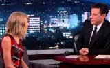 Taylor Swift interview on Jimmy Kimmel show