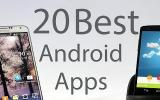 Top 20 essential Android apps in the Universe