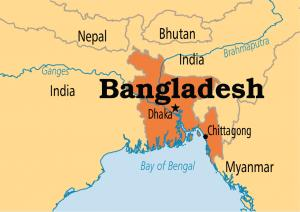 Where is Bangladesh on the map? Exact location of Bangladesh ...