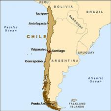 Where Is Chile On The Map Exact Location Of Chile And Coordinates - Chile location