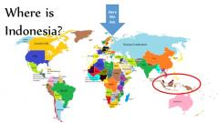 Where is Indonesia on the map? Exact location of Indonesia and ...