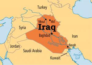 Where Is Iraq On The Map Exact Location Of Iraq And Coordinates - Iraq map
