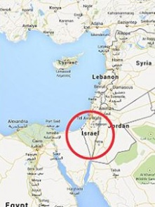 Where is israel on the map exact location of israel and coordinates image of israel gumiabroncs Gallery