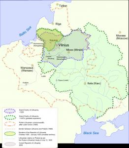 Where is Lithuania on the map Exact location of Lithuania and