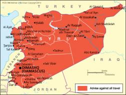 Where Is Syria On The Map Exact Location Of Syria And Coordinates - Where is syria